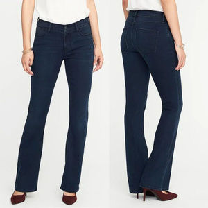 Old Navy Womens Micro Flare Jeans 14 TALL